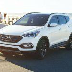 2017 Hyundai Santa FE Sport White