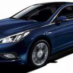 2017 Hyundai Sonata Blue