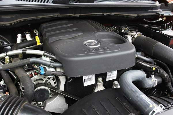 2017 Mazda BT-50 Engine