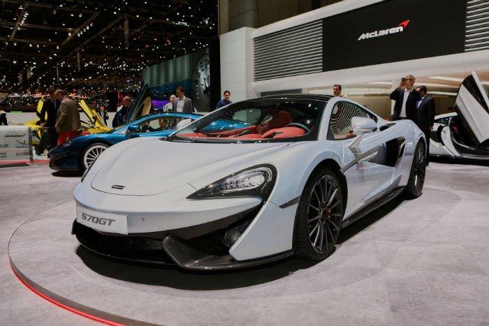 2017 McLaren 570GT Redesign