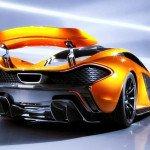 2017 McLaren P1 Exhaust