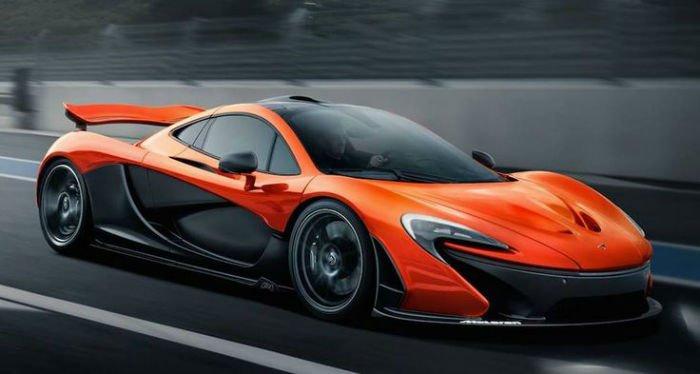 2017 McLaren P1 Model
