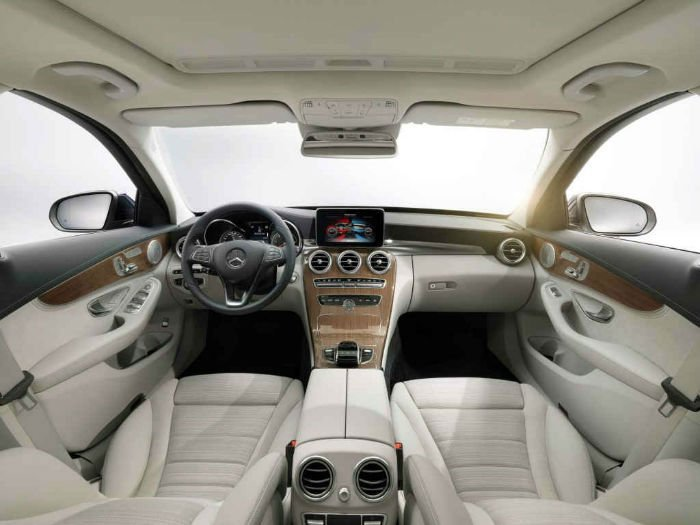 2017 Mercedes-Benz C-Class Coupe Interior