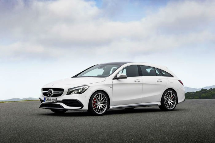 2017 Mercedes-Benz CLA-Class Model