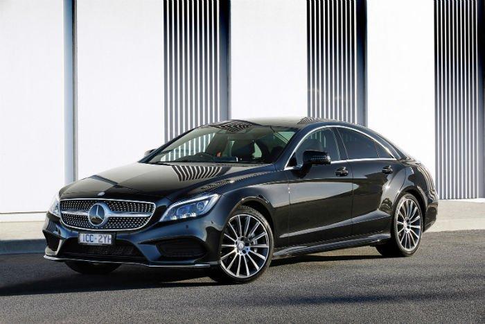 2017 Mercedes-Benz CLS Black