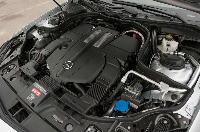 2017 Mercedes-Benz CLS Engine