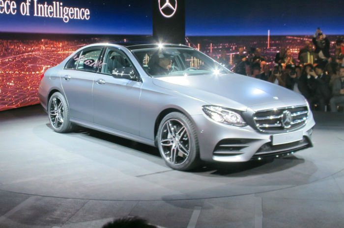 2017 Mercedes-Benz E-Class Model
