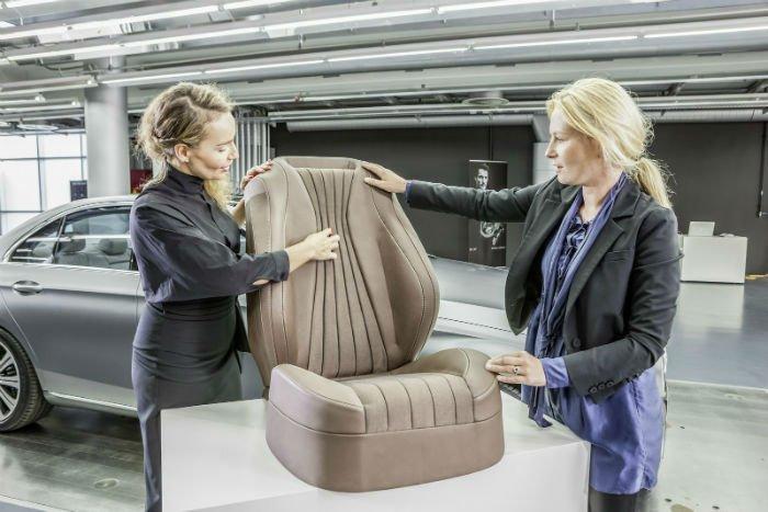 2017 Mercedes-Benz E-Class Seat
