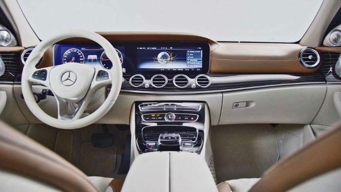 2017 Mercedes-Benz E350 Interior
