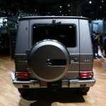 2017 Mercedes-Benz G-Class Back Wheel