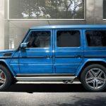 2017 Mercedes-Benz G-Class Blue Color