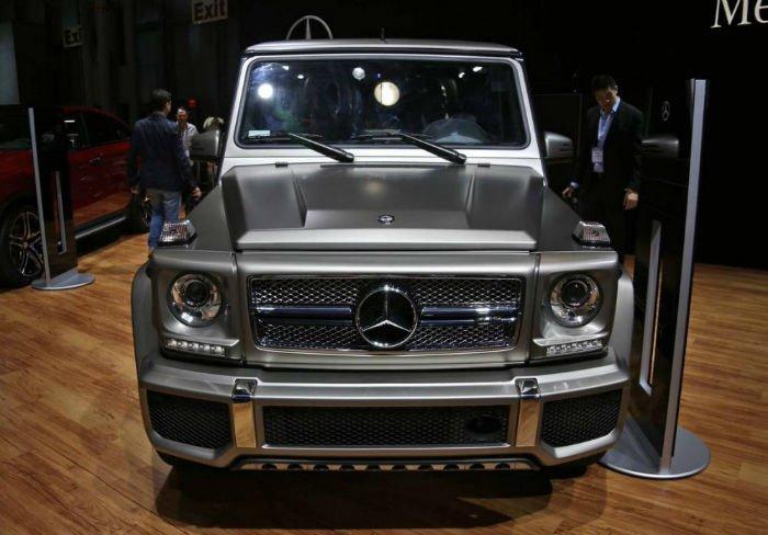 2017 Mercedes-Benz G-Class Facelift