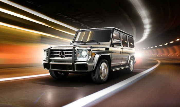 2017 Mercedes-Benz G-Class Official Photo