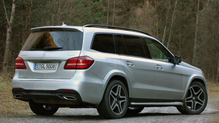 2017 Mercedes-Benz GLS 550