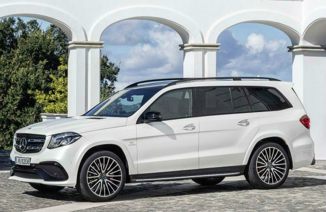 2017 Mercedes-Benz GLS 63 Model