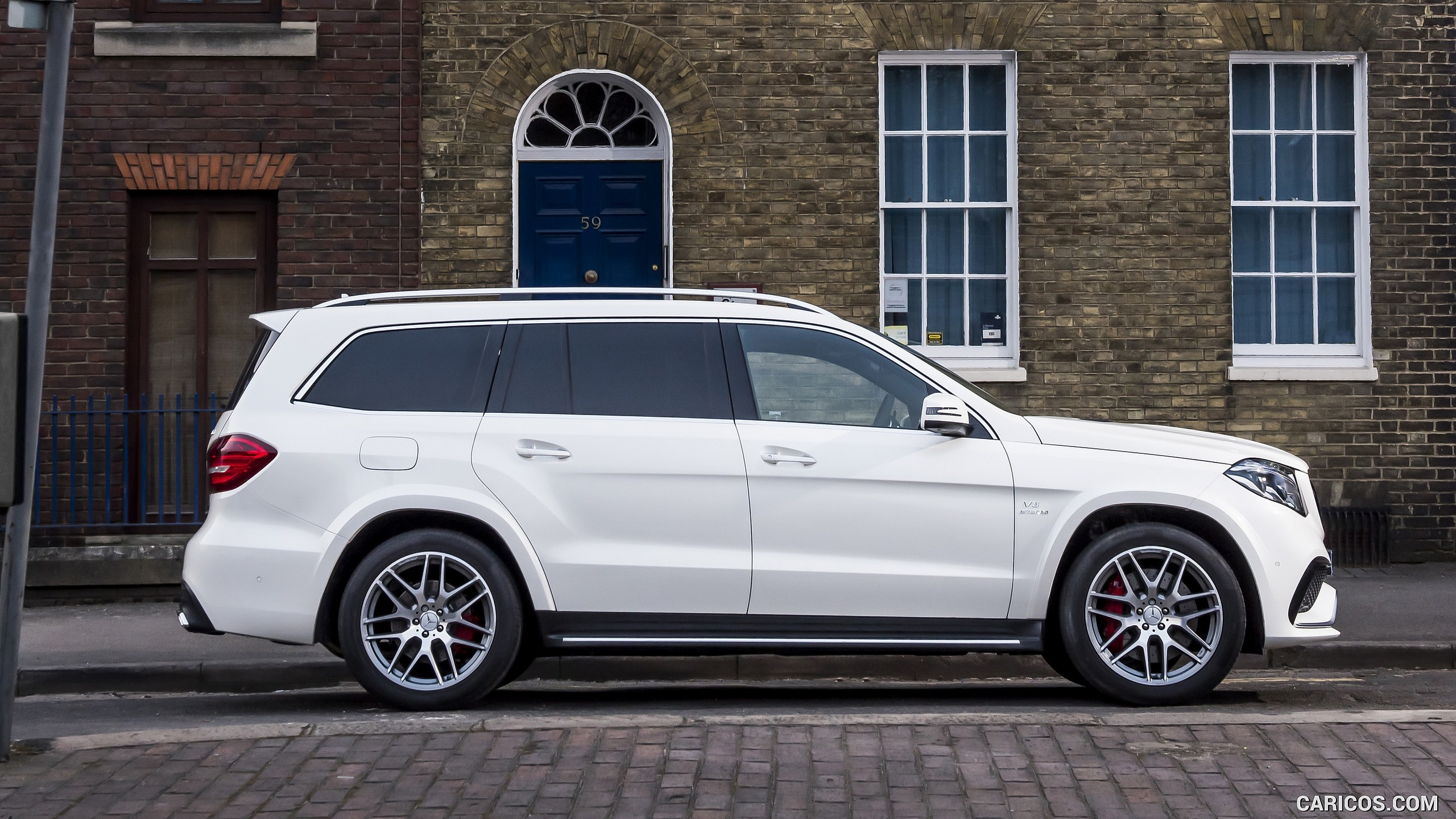 2017 Mercedes-Benz GLS 63 White