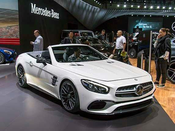 2017 Mercedes-Benz SL Model