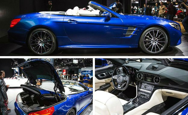 2017 Mercedes-Benz SL65 AMG Changes