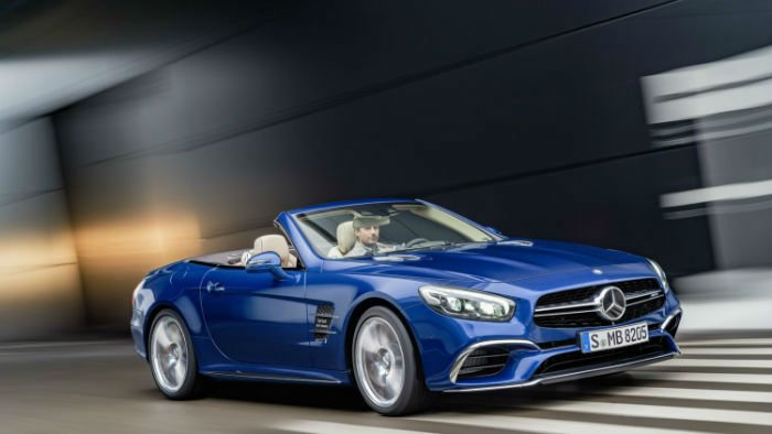 2017 Mercedes-Benz SLC Model