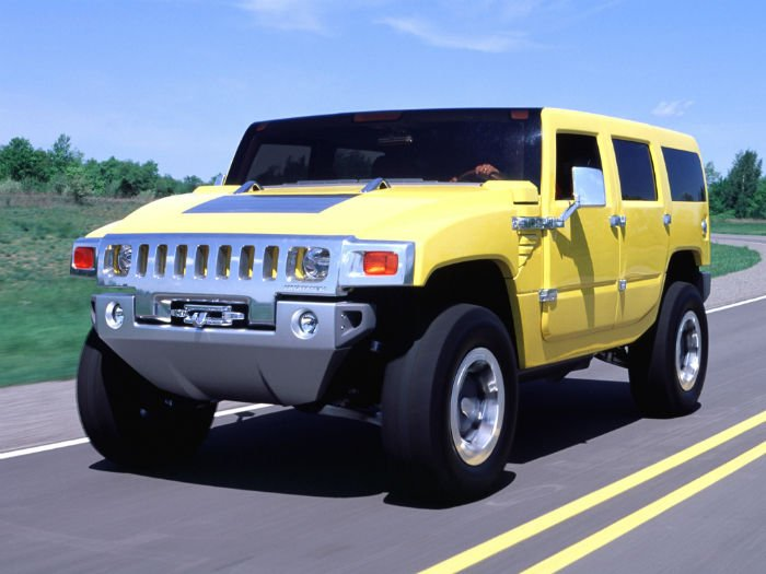 Hummer H2 SUT 2017 Model