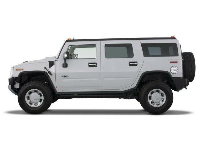 Hummer Truck White