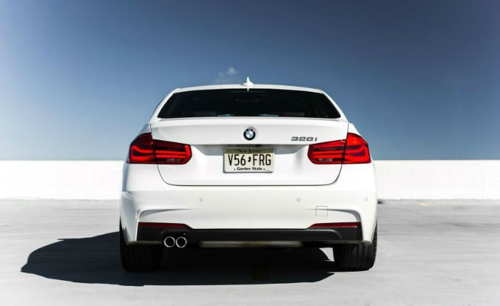 2017 BMW 3 Series Exhaust