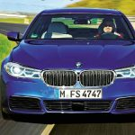 2017 BMW 5 Series Facelift