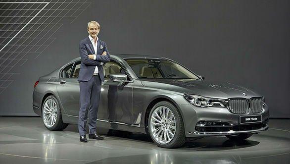 2017 BMW 7 Series Model