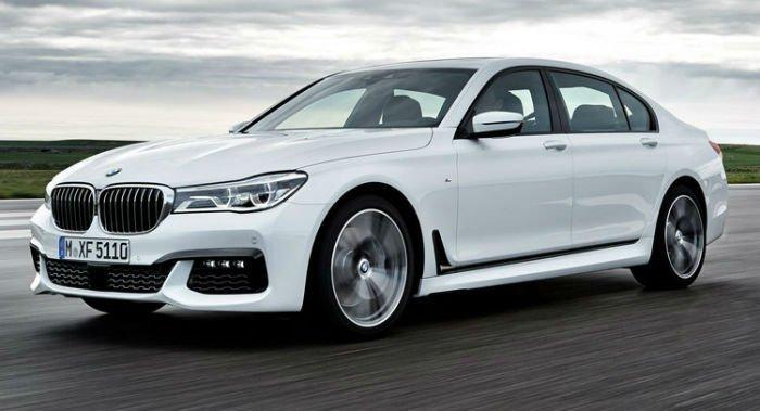 2017 BMW 7 Series White