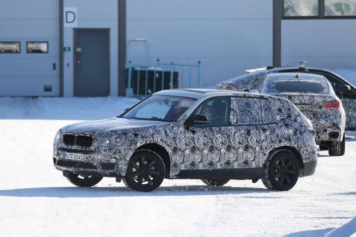 2017 BMW X5 Spy Shots