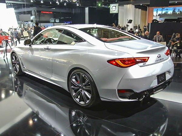 2017 Infiniti Q60 Sedan Exterior