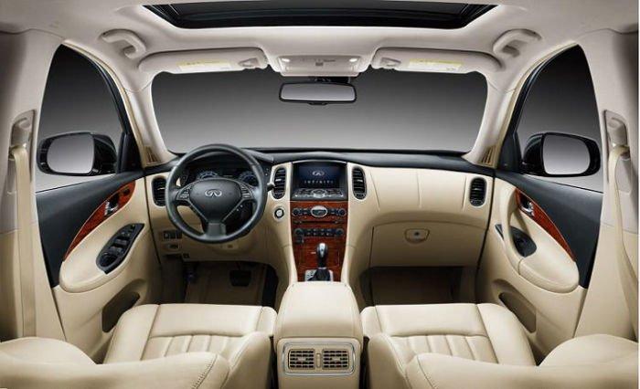 2017 Infiniti QX50 Interior