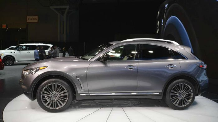 2017 Infiniti QX70 Limited Crossover