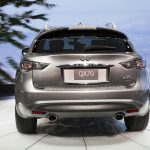2017 Infiniti QX70 Limited Exhaust