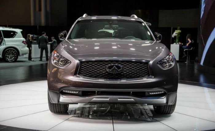 2017 Infiniti QX70 Limited Facelift