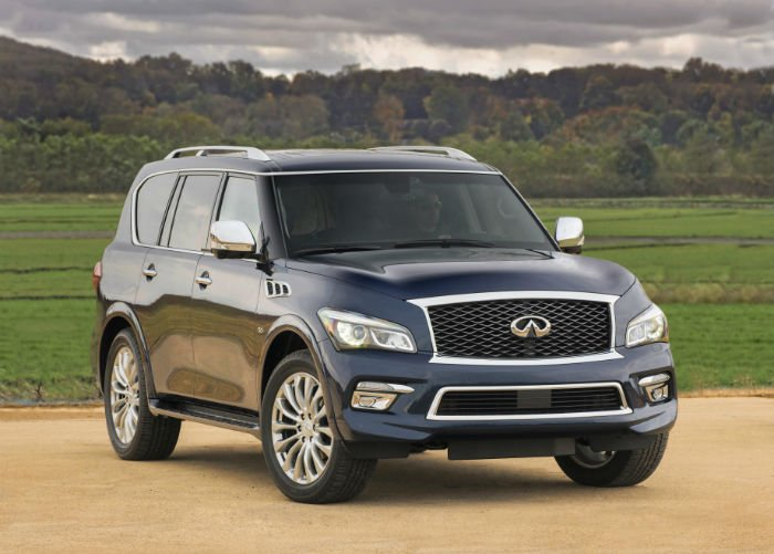 2017 Infiniti QX80 Changes
