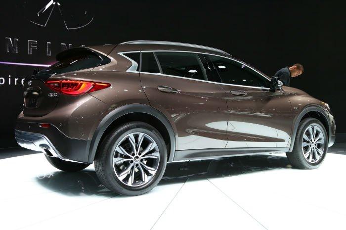 2017 Infiniti SUV QX30