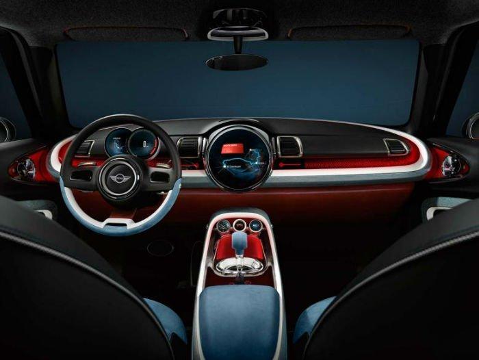2017 Mini Cooper Clubman Model S Interior