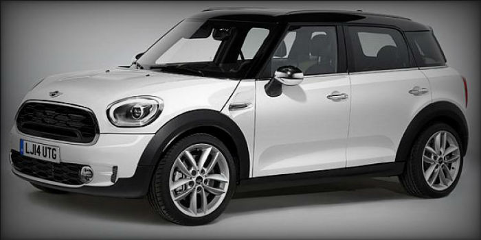 2017 Mini Countryman White
