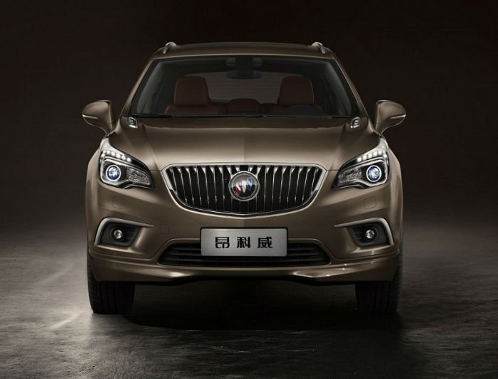 2017 Buick Envision Facelift