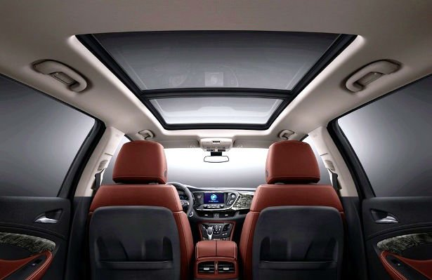 2017 Buick Envision Inside