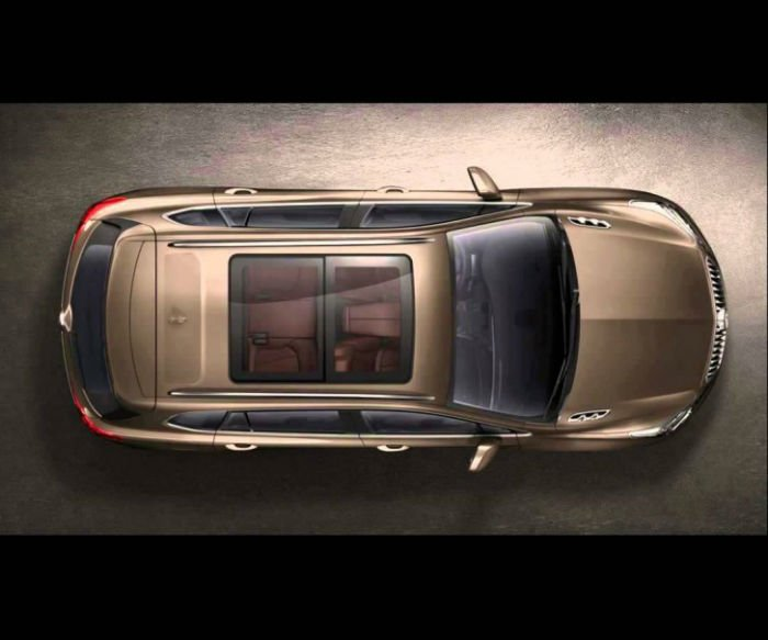 2017 Buick Envision Roof