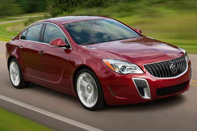 2017 Buick Regal Release