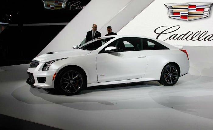 2017 Cadillac ATS V Coupe