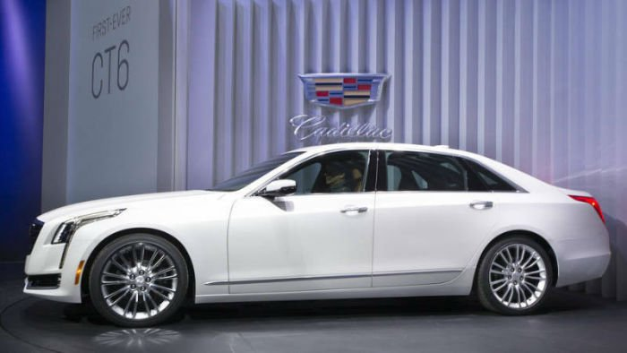 2017 Cadillac CT6 Coupe