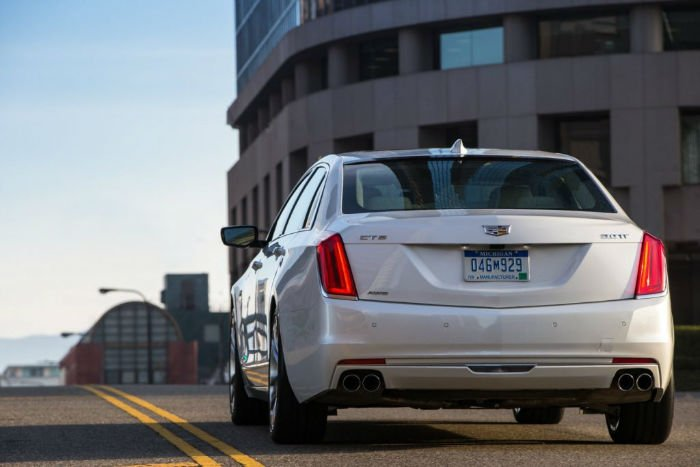2017 Cadillac CT6 Exhaust