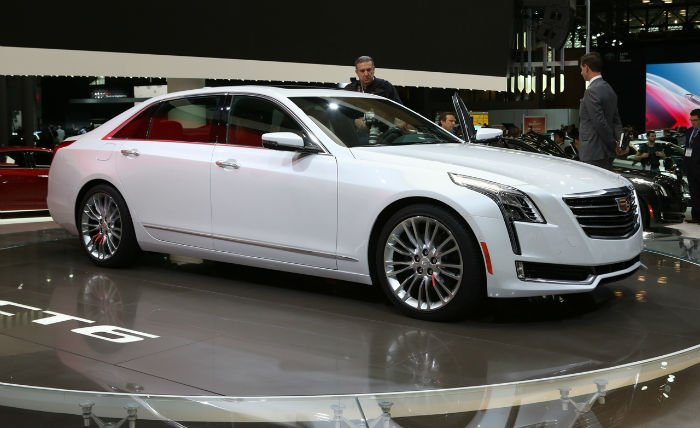 2017 Cadillac CT6 Model