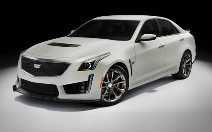 2017 Cadillac CTS V Model