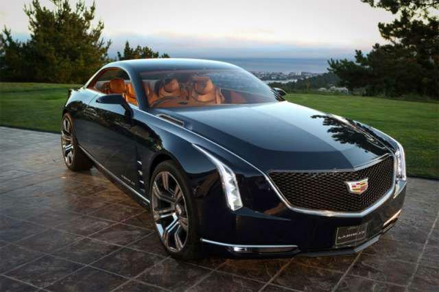 2017 Cadillac Eldorado Black