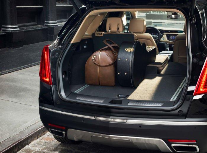 2017 Cadillac SRX Cargo Space